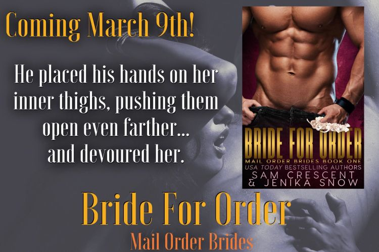 Bride for Order promo