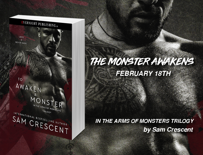 In The Arms Of Monsters Trilogy Author Sam Crescent